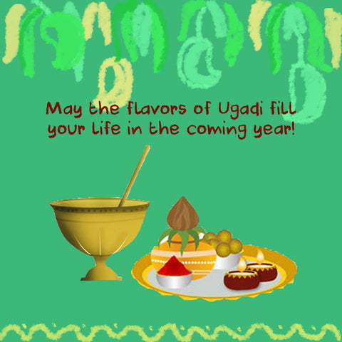 Flavours of Ugadi fill your life - Shumee