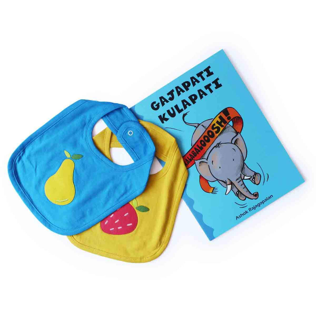 10% Off | Fruit Bibs And Kalabaloosh Gajapati Kulapati Books Combo