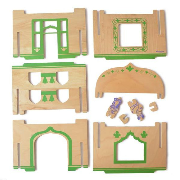 Buy Wooden Stackable Dollhouses Online - Persian | Free Shipping