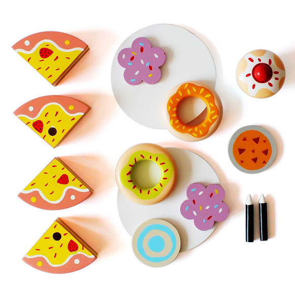 Pretend Food Toys Set | Dessert Set for Kids - Shumee