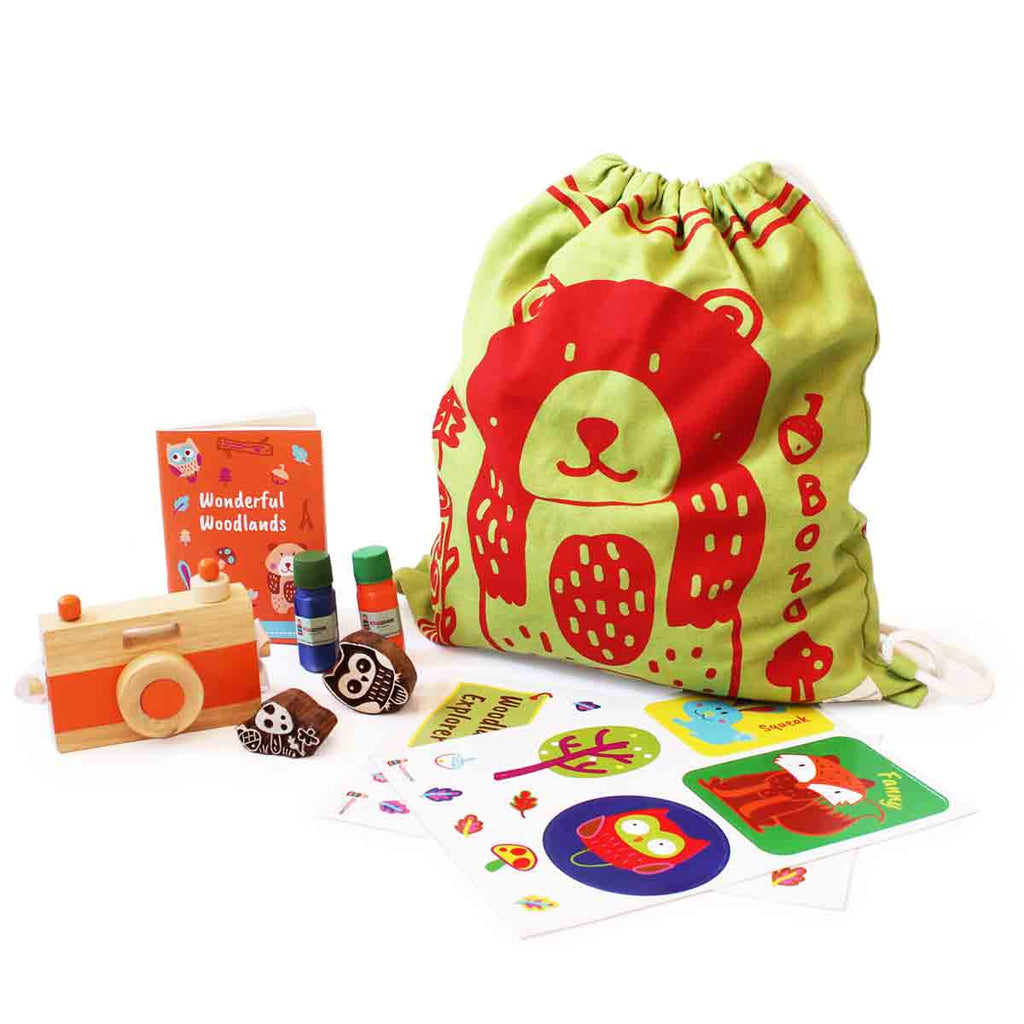Woodlands Theme Kids Adventure Kit - Shumee