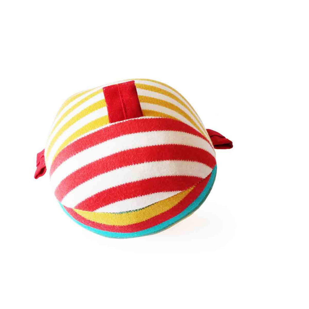 Ele and Ball Rattle Organic Plush Toy