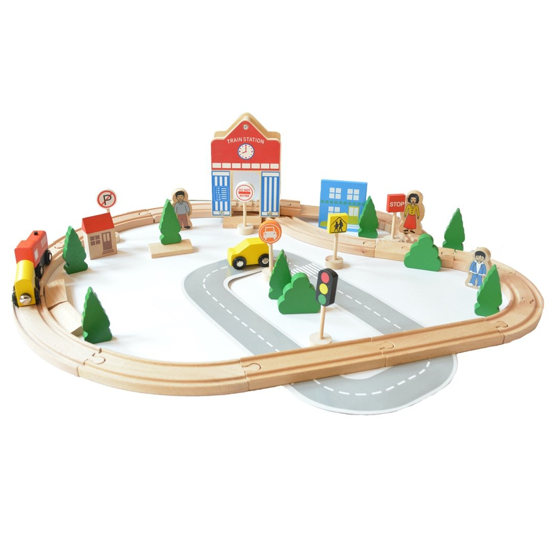 Buy Wooden Train Set India Online | Free Shipping - Shumee