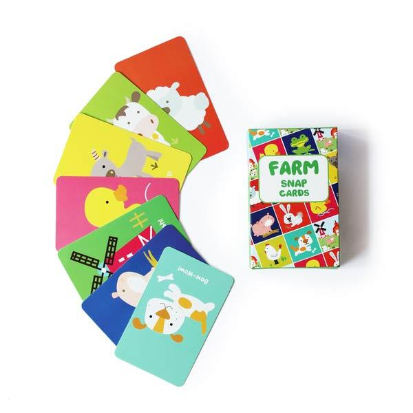 Farm Snap Cards game
