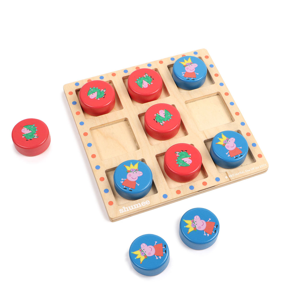 Peppa Pig Tic Tac Toe and Memory Cards Combo