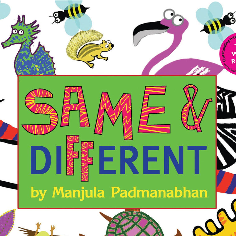 Buy Same and different puzzle book by Manjula Padmanabhan for kids' & children's online - Shumee