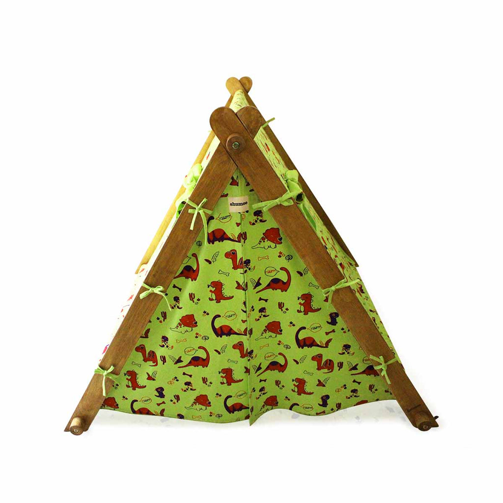 Dinosaur Triangular Tent