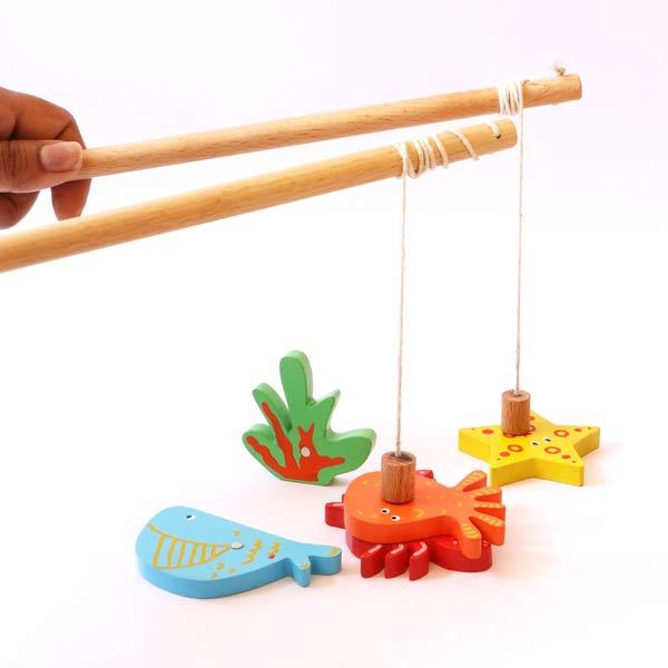 Captain Tot's Magnetic Fishing Set