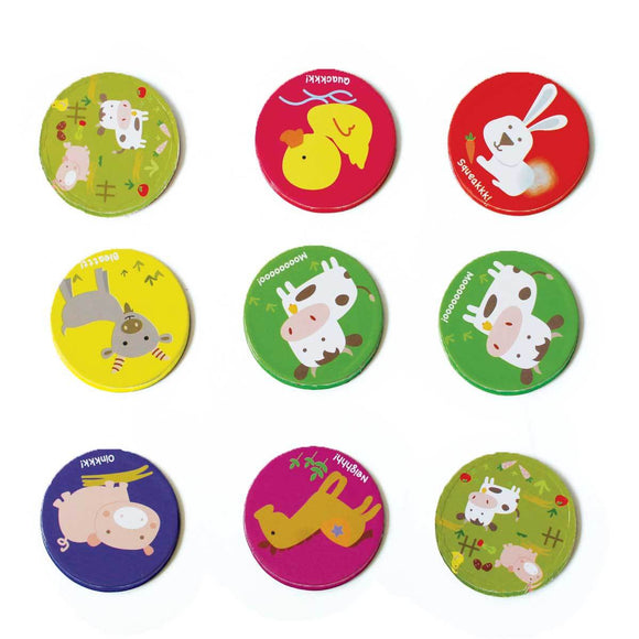 Farmyard Memory Card Game
