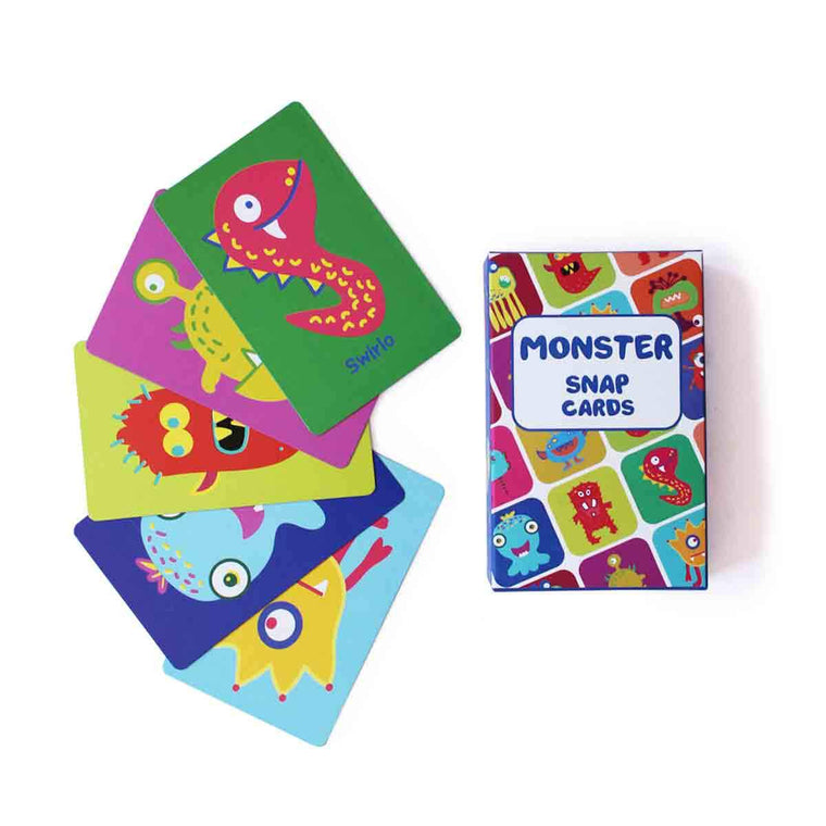 Monster Snap Cards | Free Shipping - Shumee