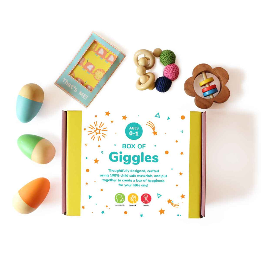 Box of Giggles for kids and babies