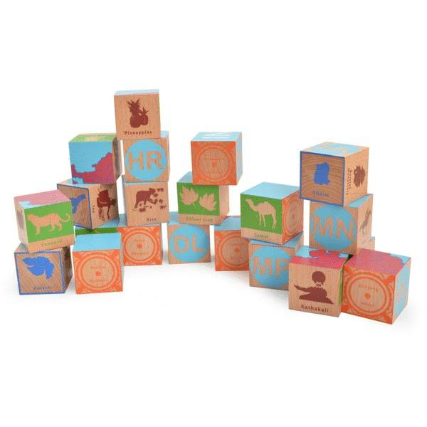 India Blocks - Wooden Block Puzzle | Free Shipping - Shumee
