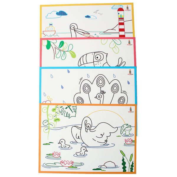 Coloring Mats - Fly Buddy