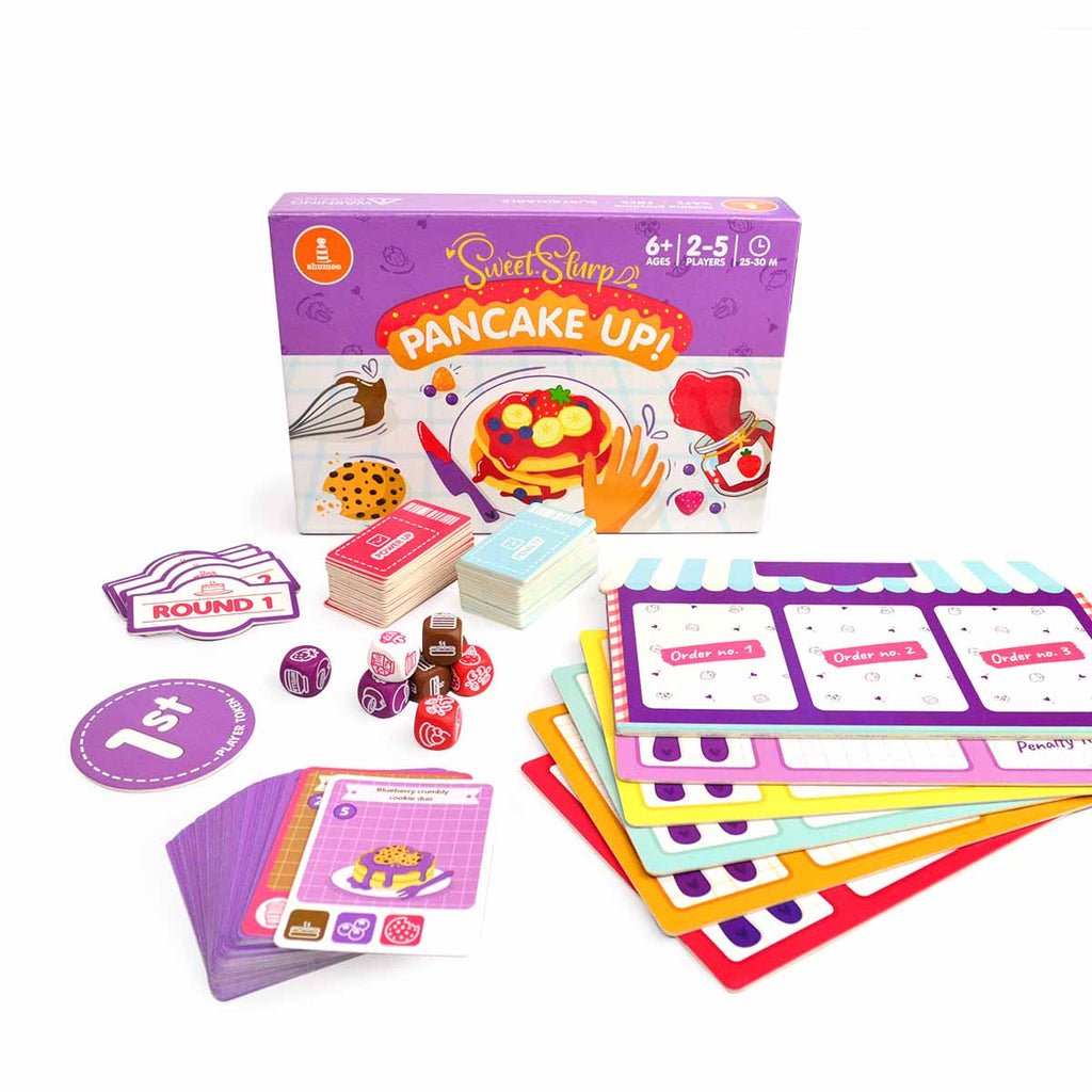 Sweet-slurrp Pancake Up - Board Game