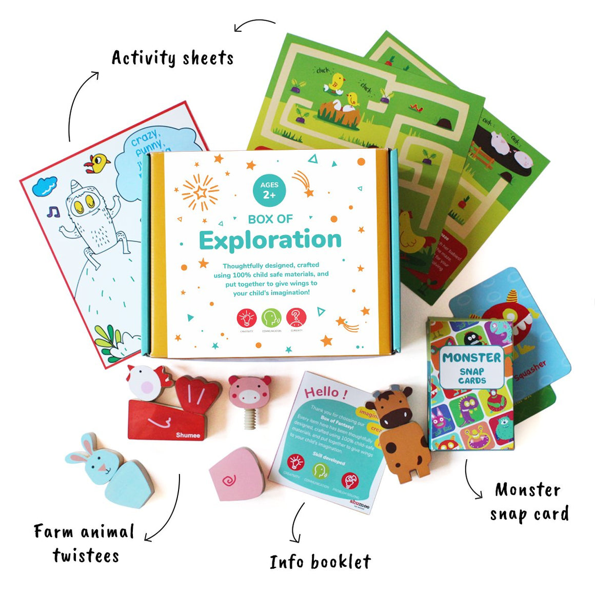 Box of Exploration | Shumee Activity Box Online India | Free Shipping