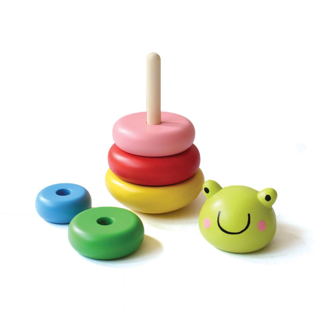 Frog Wooden Stacker