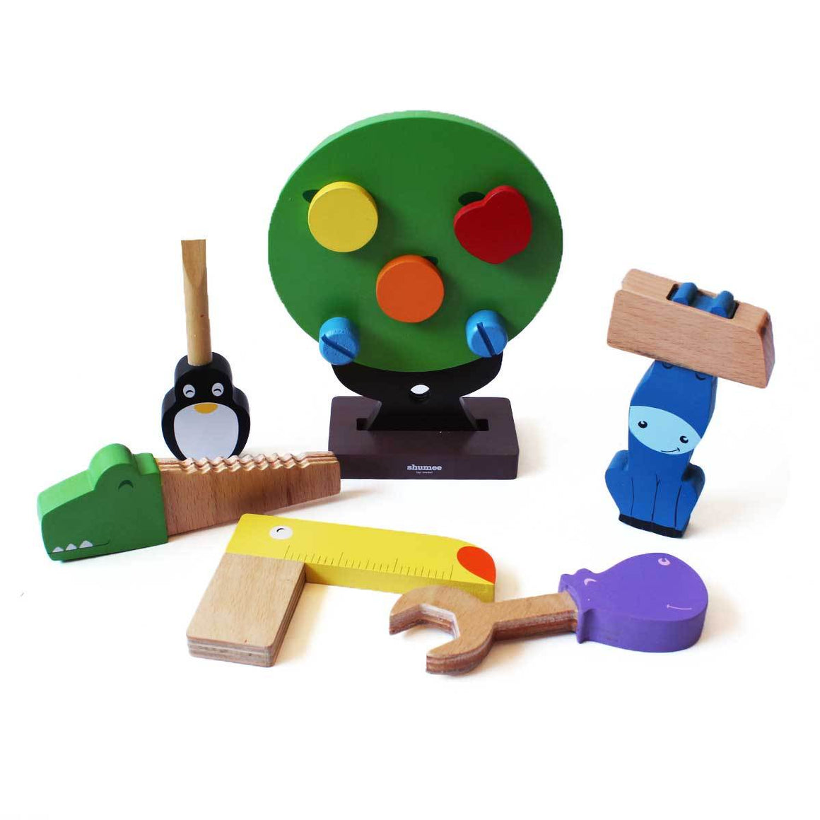 10% Off | Wooden Toy Tools Set for Toddlers Online - Shumee