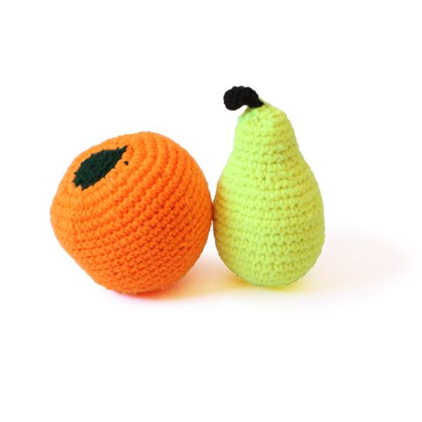 Crochet Fruits Set