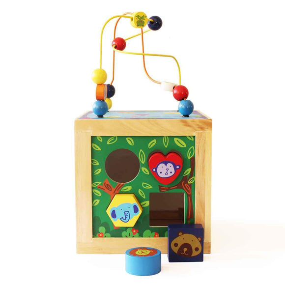 Animal Habitat Activity Cube