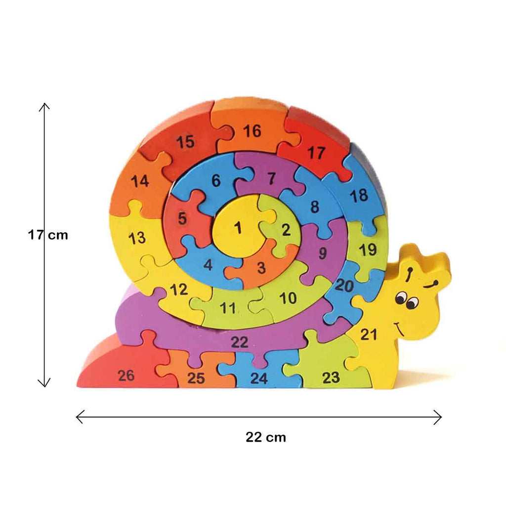 Snazzle - The Rainbow Snail Puzzle