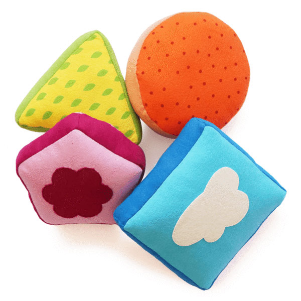 Baby's Plush Delight - Textured Shapes