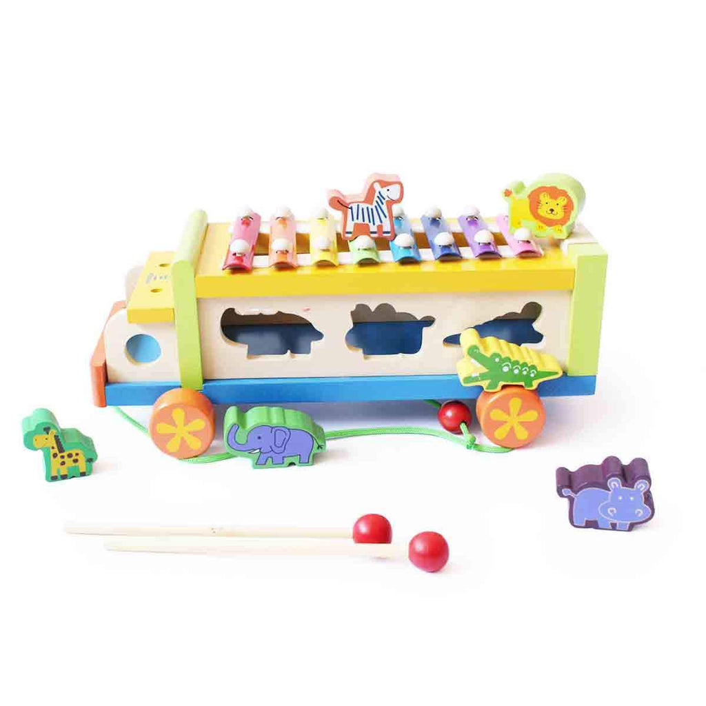 Musical Animal Activity Truck