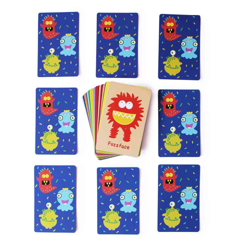 Monsters Snap Card Game