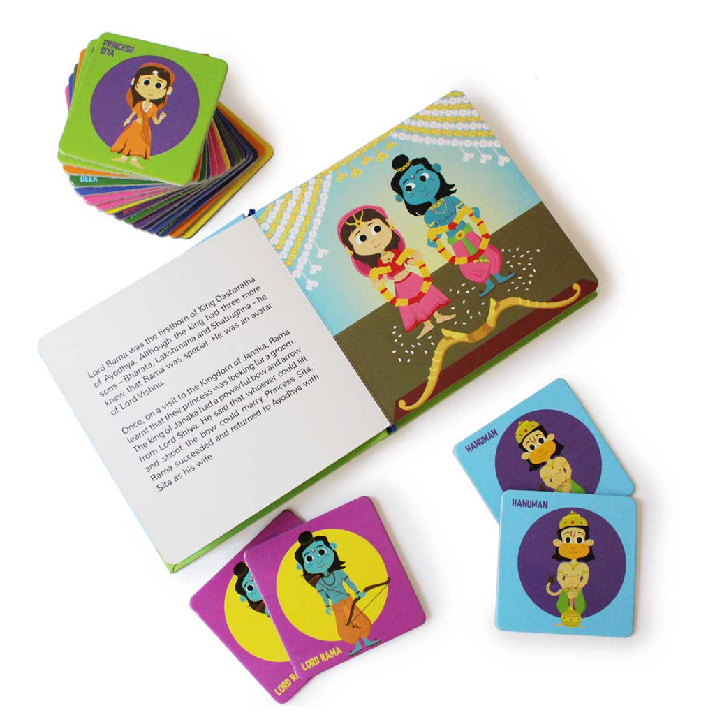 Ramayana Memory Game and Book ( Age 4+)
