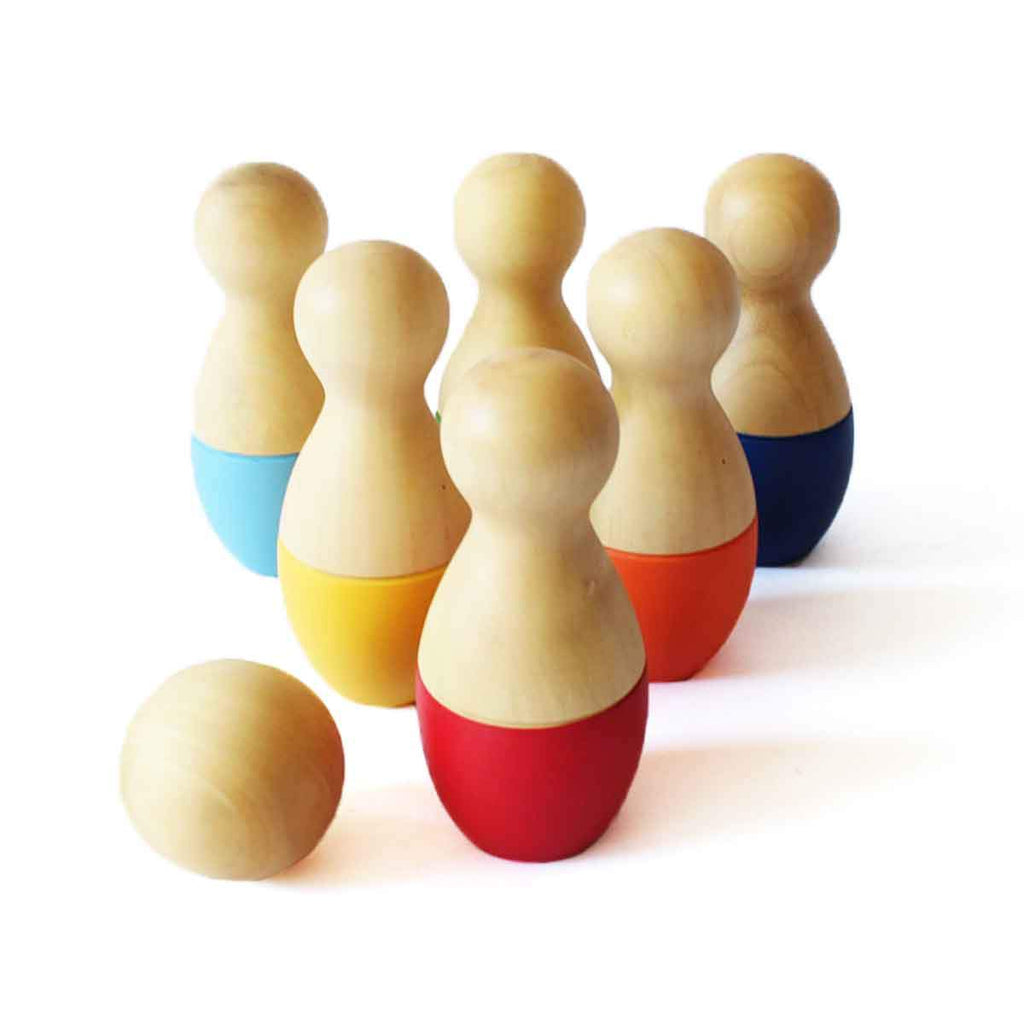 Mini Bowling Pins Set