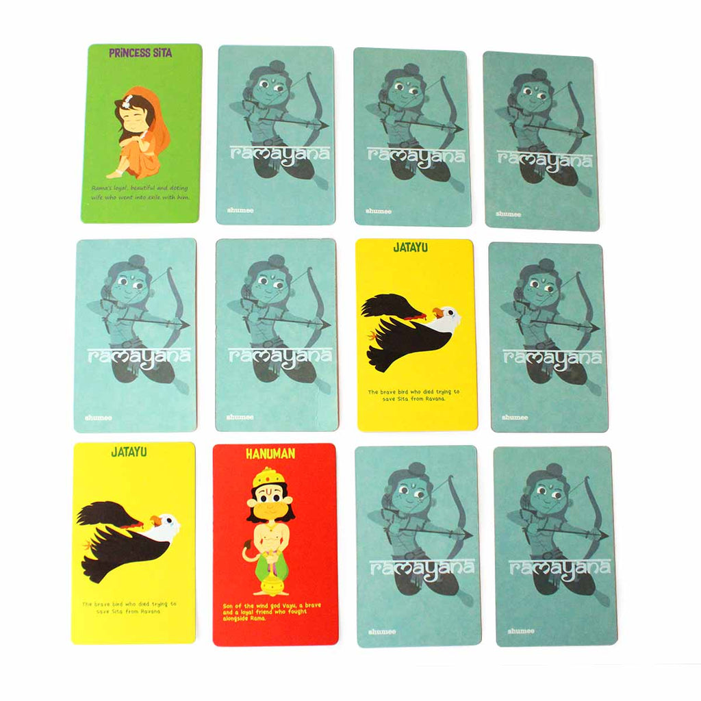 Ramayana Snap Card Game