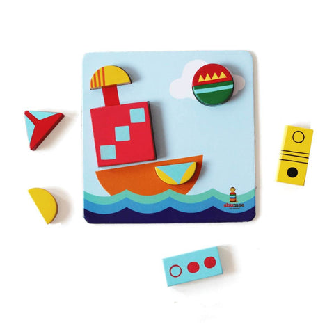 Wooden Chalk-o-Blocks