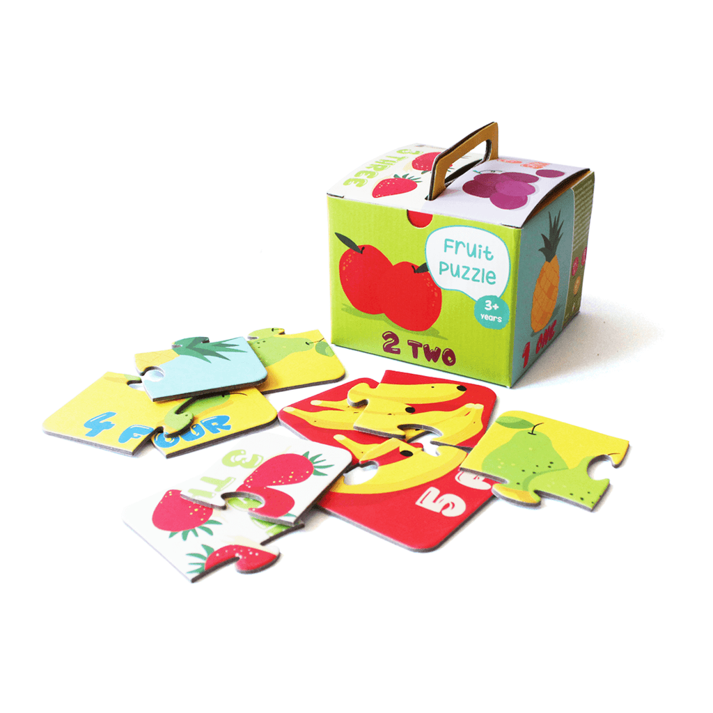Fruit Puzzle for Toddlers | Set of 6 Puzzles | Free Shipping