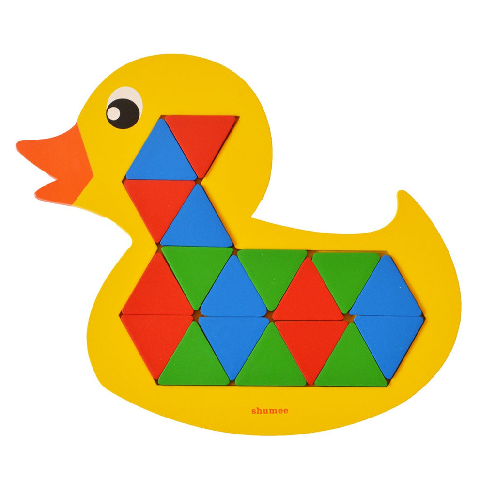 Wooden toy Quack-a-Duck puzzle game for kids - Shumee