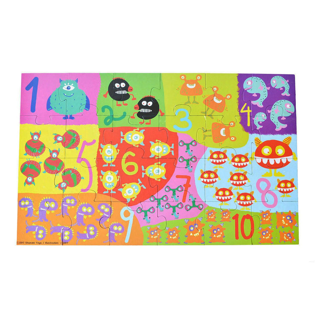 Monsters floor puzzle - Shumee