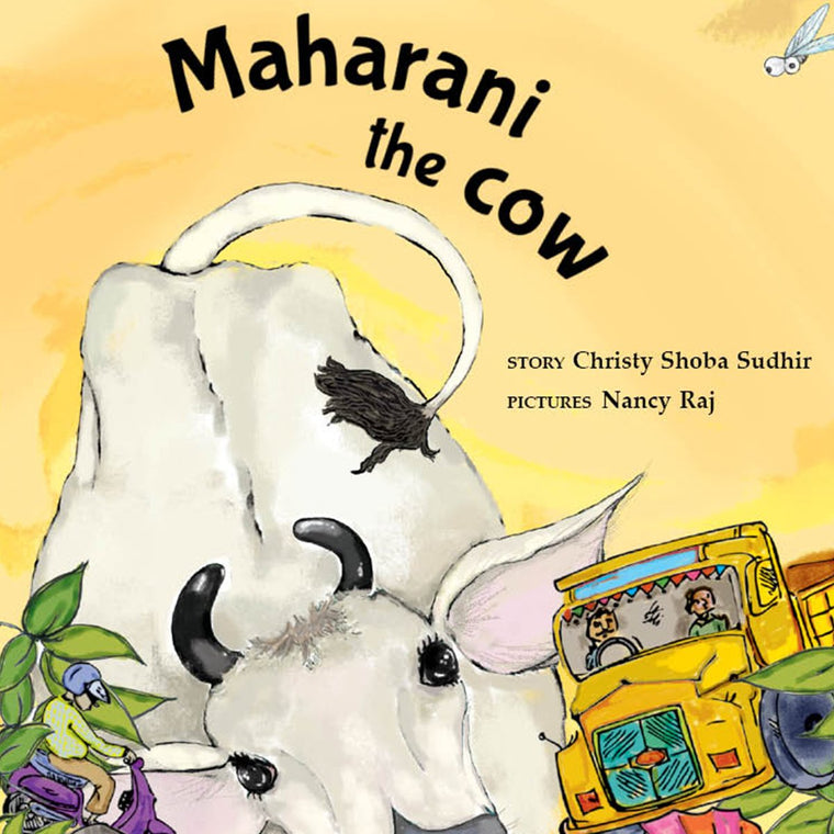 Maharani the Cow - by Christy Shoba Sudhir