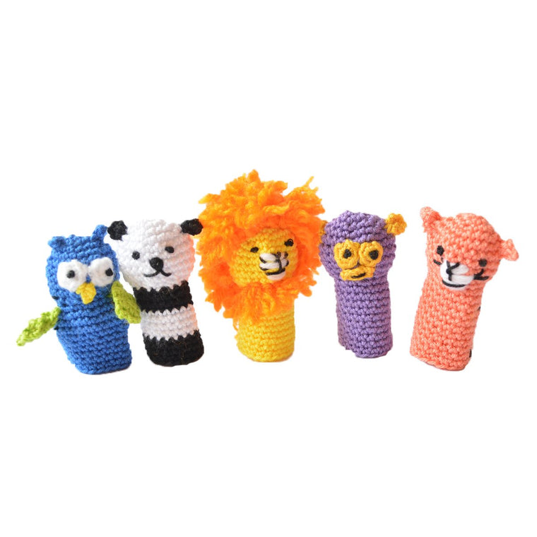 Buy Forest Friends crochet finger puppets