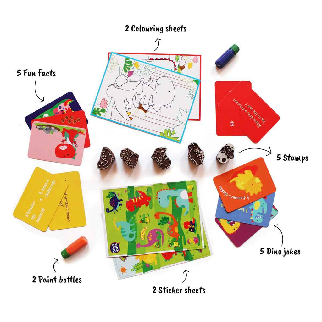 Dino Fun Activity Set