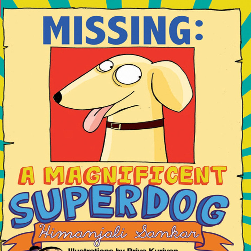 Missing: A Magnificent Superdog | Free Shipping - Shumee