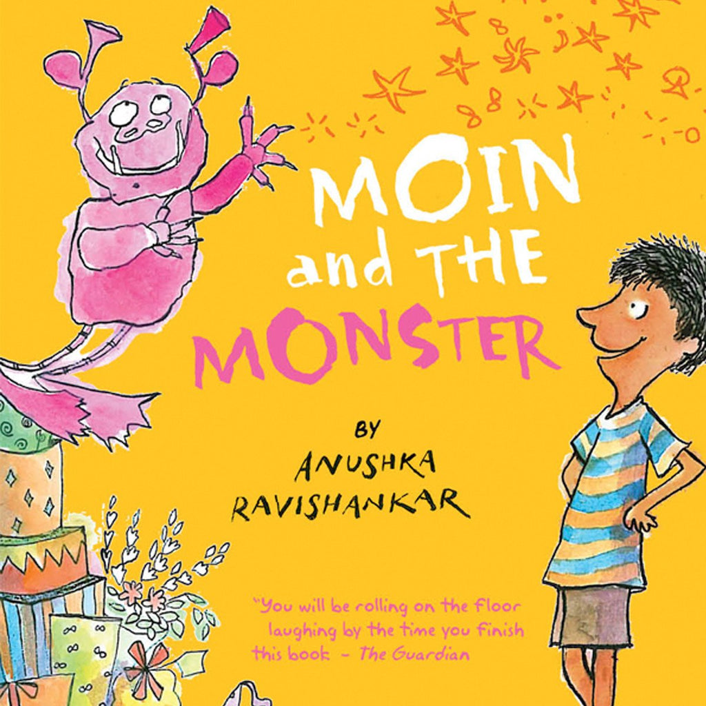 Moin and the Monster - by Anushka Ravishankar | Free Shipping - Shumee