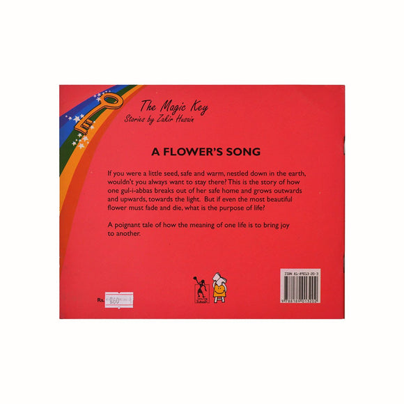 Buy A Flower's Song story book by Zakir Husain for children's & kids' online - Shumee