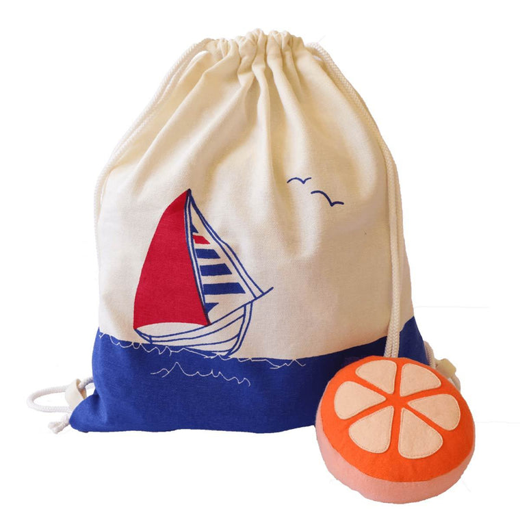 Treasure Trove Bag- Boat | Free Shipping - Shumee