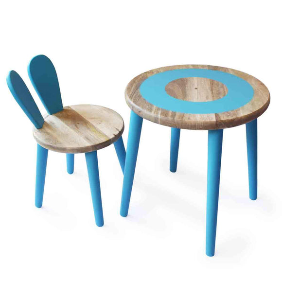 Small Wooden Table and Chairs for Toddlers | Free Shipping - Shumee
