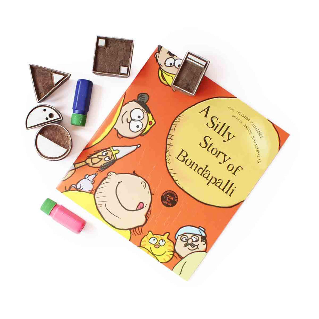 10% Off | Shape Shifter Stamps And Bondapalli Book Combo - Shumee