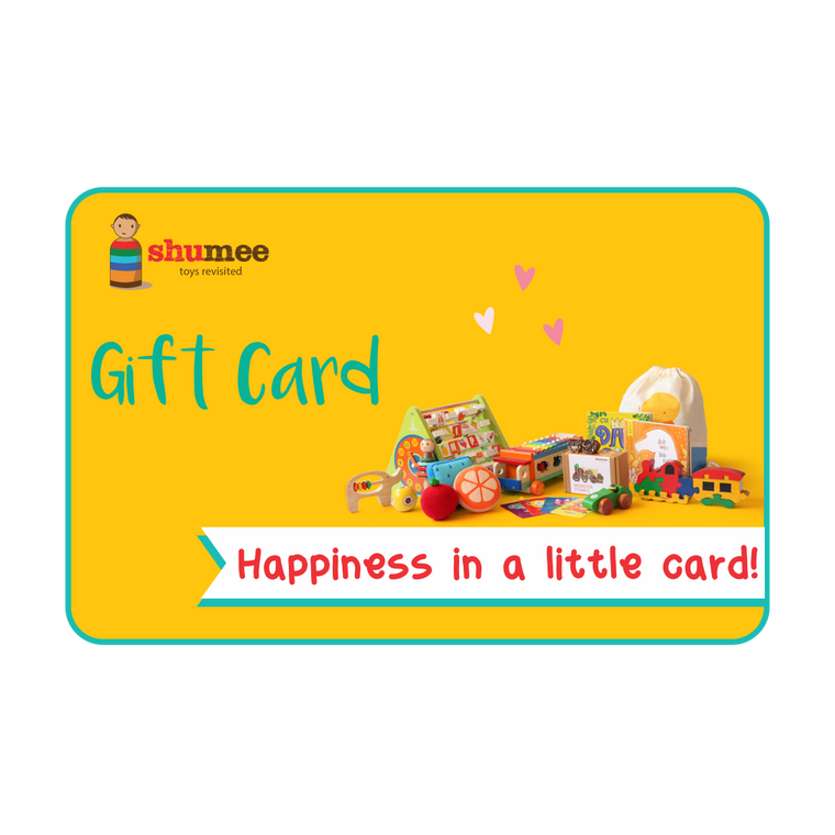 Shumee Gift Card for Kids Toys & Accessories