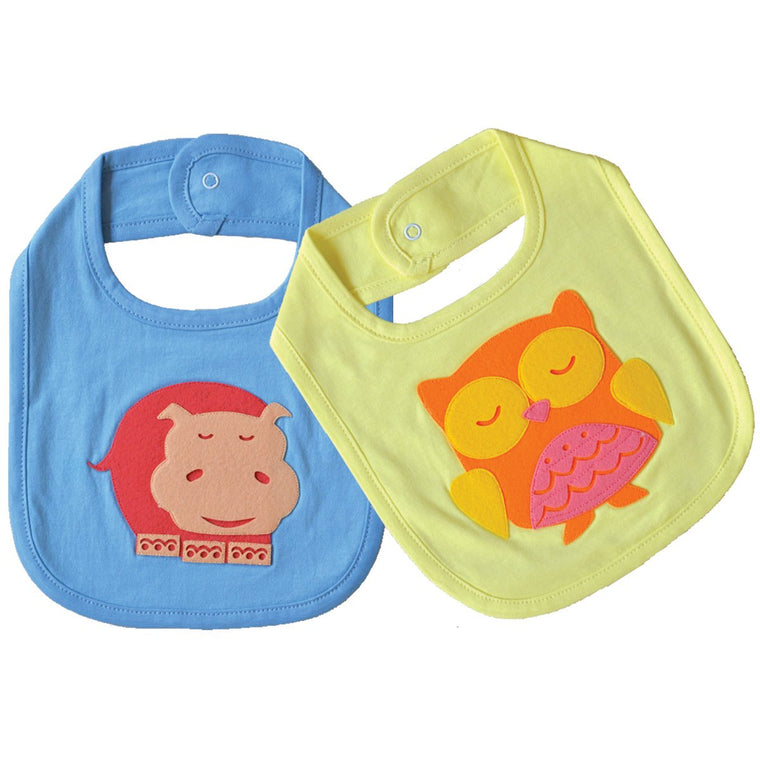 Baby's First Bibs Set - Forest Friends | Free Shipping - Shumee