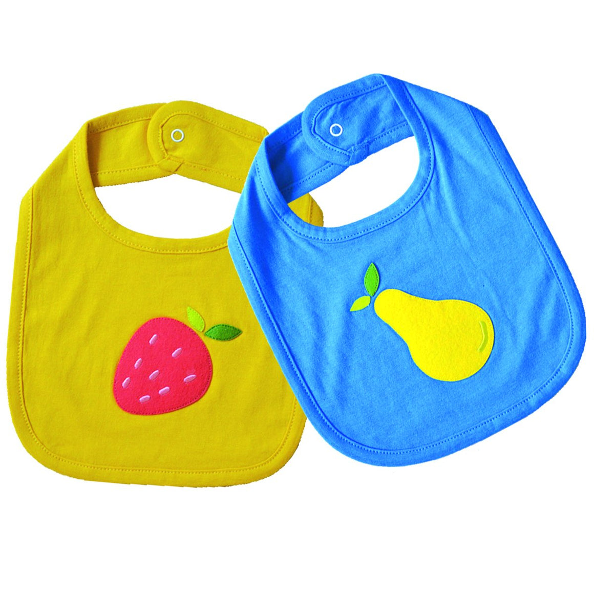 Juicy Fruit - Baby Bibs Set | Free Shipping - Shumee