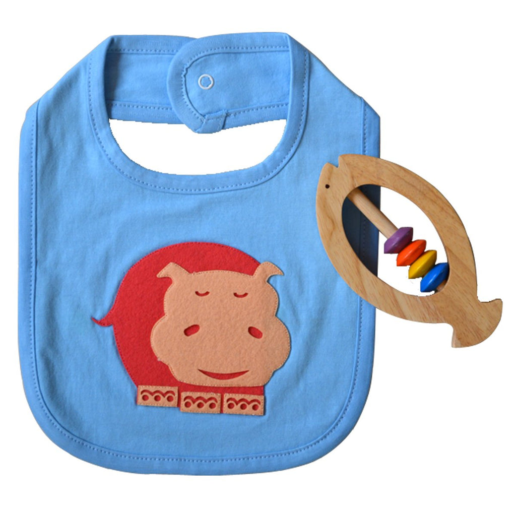 Forest friends bibs