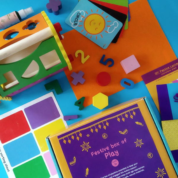 Festive Box Of Play for Babies