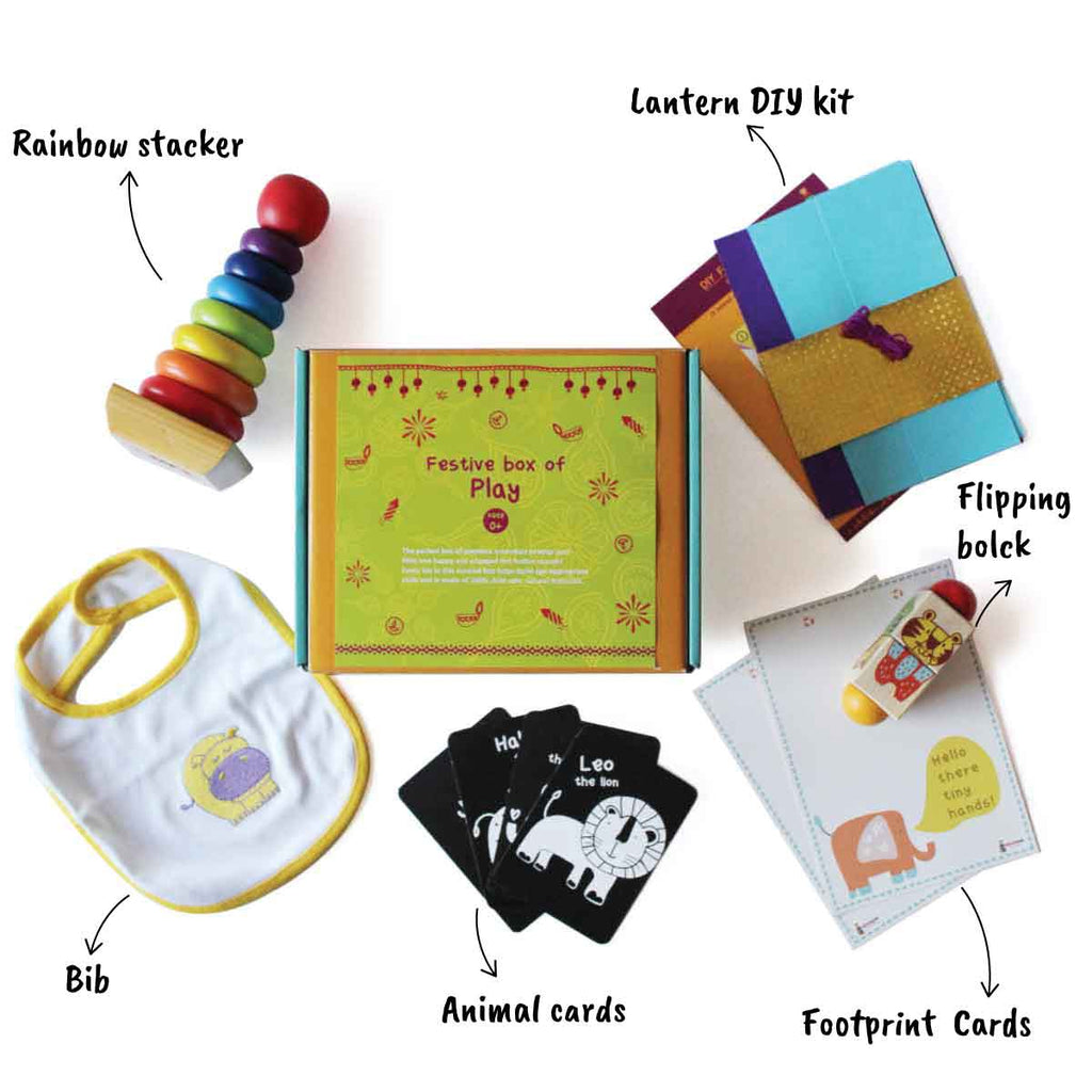 Festive Box of Play for Infants