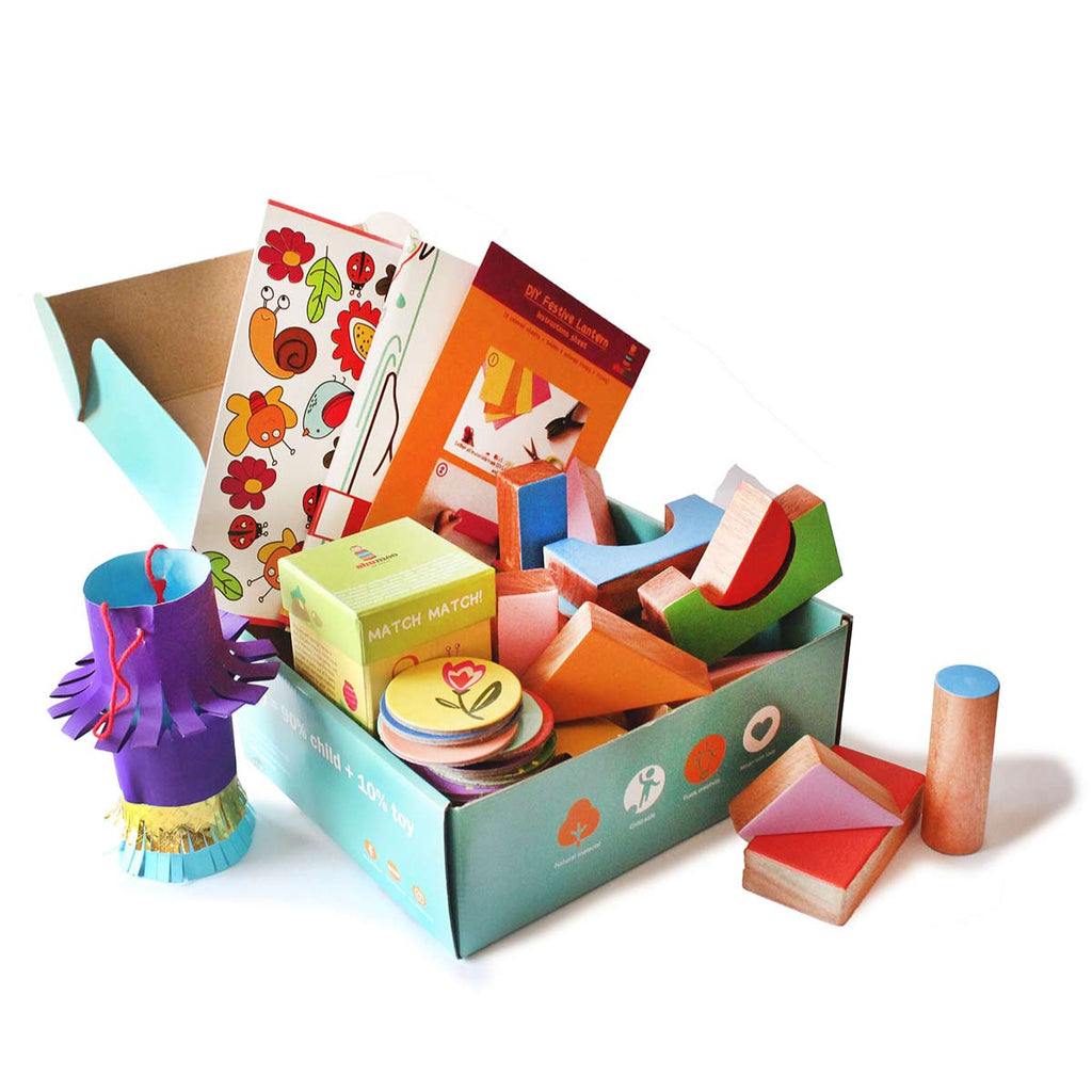 Festive Box of Play for Toddlers